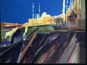 City On the Hill Nancy Martin, CO Best Colorado Artist