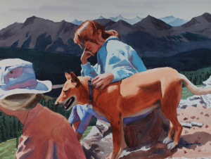 Dog in Mountains, #2          Howard Kay, NE