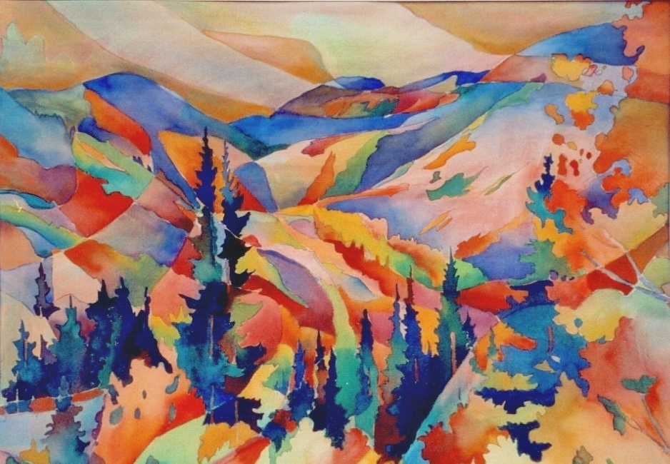 Mountain Rhythm (Sold)