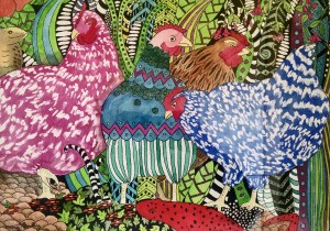 Hens Gone Wild Mary Bollig, CO