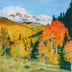 High Country Aspens  Jane K. Fritz, NM