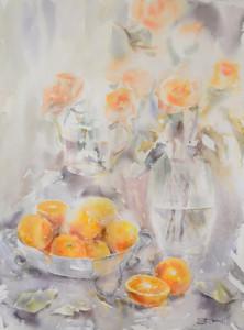 Oranges and roses Tatsiana Harbacheuskaya, NV