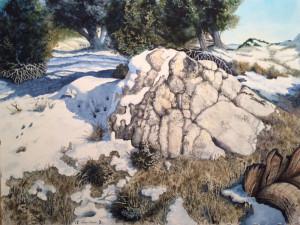 Spring comes          slowly          Jeffrey Johnson, UT             Delta Fine Arts Award