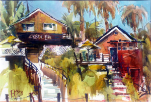 Steps Up to the Cabin  Eileen McCullough, CA  Jack Richeson Award